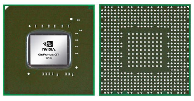 Видеокарта для ноутбука NVIDIA GeForce GTX 720M