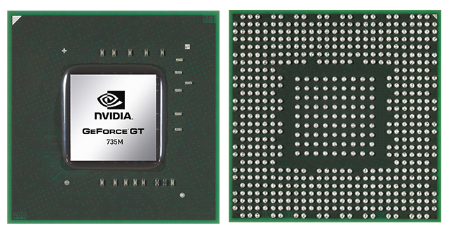Видеокарта для ноутбука NVIDIA GeForce GTX 735M