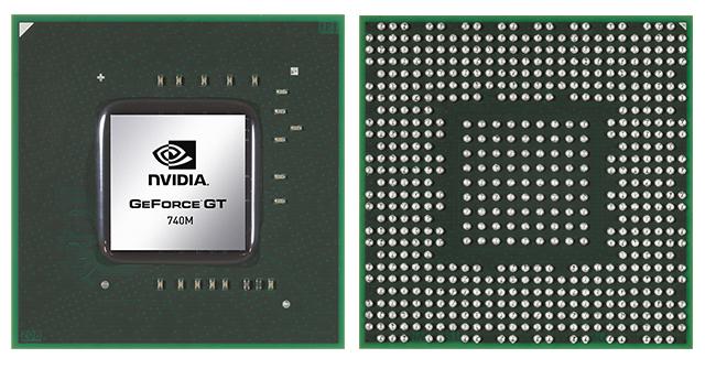 Видеокарта для ноутбука NVIDIA GeForce GTX 740M