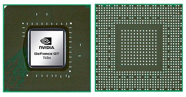 Видеокарта для ноутбука nVidia GeForce GT 745M