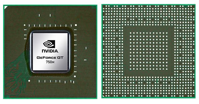 Видеокарта для ноутбука NVIDIA GeForce GTX 750M