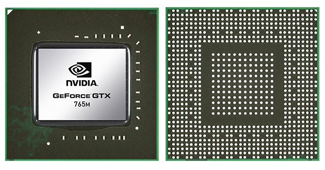 Видеокарта для ноутбука nVidia GeForce GTX 765M