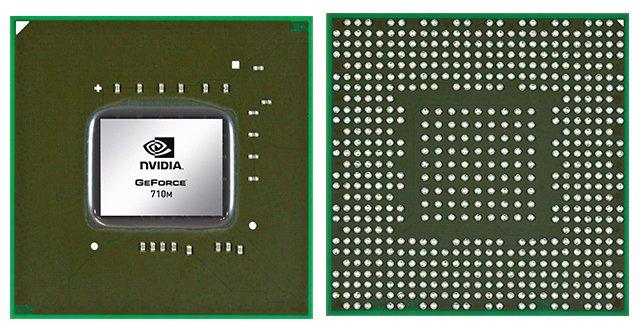 Видеокарта для ноутбука nVidia GeForce 710M