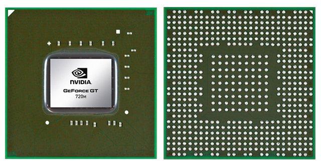 Видеокарта для ноутбука nVidia GeForce GT 720M