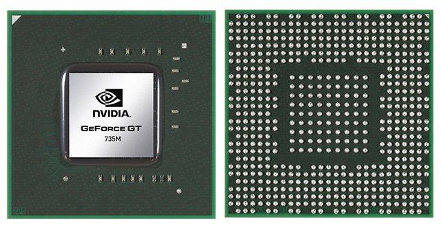 Видеокарта для ноутбука nVidia GeForce GT 735M