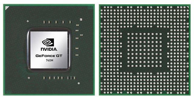 Видеокарта для ноутбука nVidia GeForce GT 740M