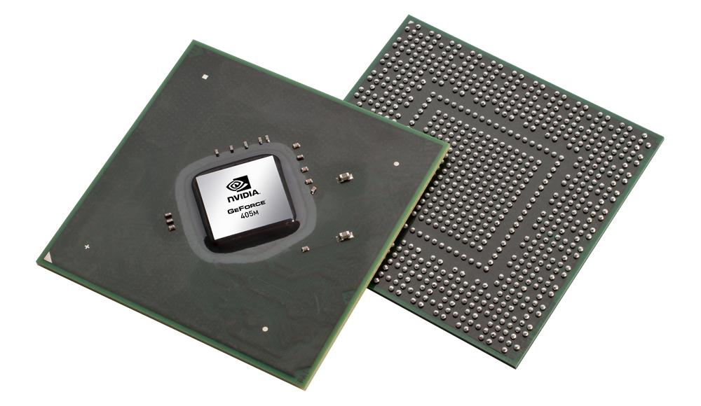 Видеокарта для ноутбука NVIDIA GeForce 405M