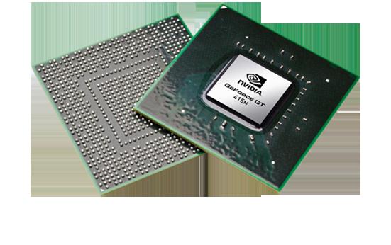 Видеокарта для ноутбука nVidia GeForce GT 415M