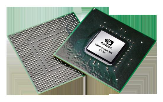 Видеокарта для ноутбука nVidia GeForce GT 420M