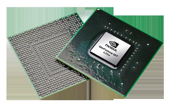 Видеокарта для ноутбука nVidia GeForce GT 435M