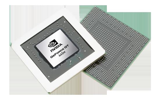 Видеокарта для ноутбука nVidia GeForce GT 445M