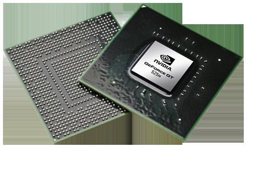 Видеокарта для ноутбука nVidia GeForce GT 525M