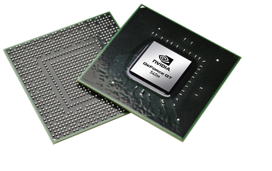Видеокарта для ноутбука nVidia GeForce GT 540M