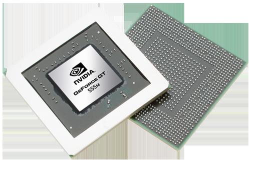 Видеокарта для ноутбука nVidia GeForce GT 555M