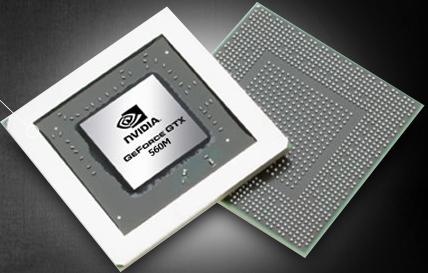 Видеокарта для ноутбука nVidia GeForce GTX 560M