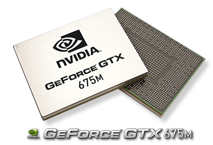 Видеокарта для ноутбука NVIDIA GeForce GTX 675M