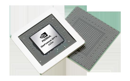 Видеокарта для ноутбука nVidia GeForce GTX 460M