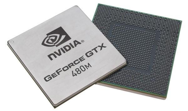 Видеокарта для ноутбука nVidia GeForce GTX 480M