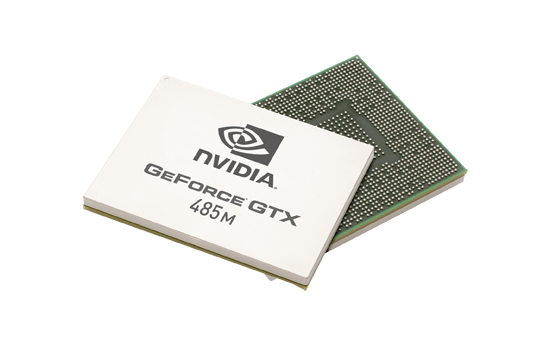 Видеокарта для ноутбука nVidia GeForce GTX 485M