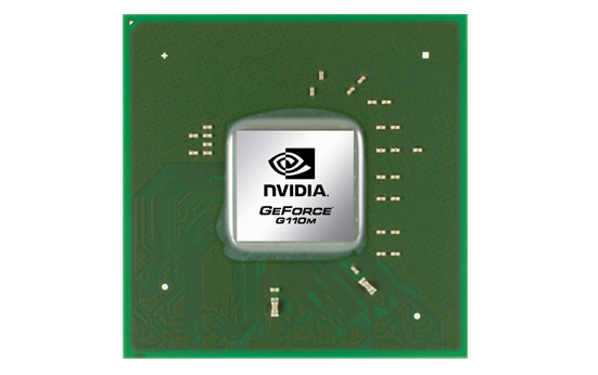 Видеокарта для ноутбука nVidia GeForce G110M