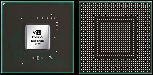 Видеокарта для ноутбука nVidia GeForce 610M