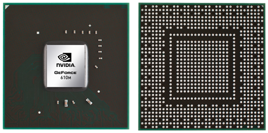 Видеокарта для ноутбука NVIDIA GeForce GTX 610M