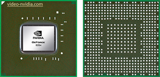 nVidia GeForce 820m