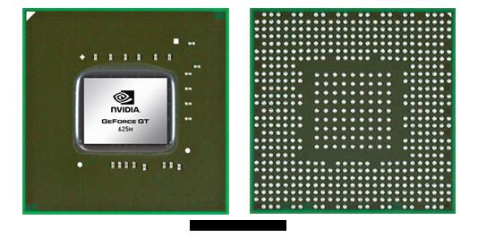 Видеокарта для ноутбука nVidia GeForce GT 625M
