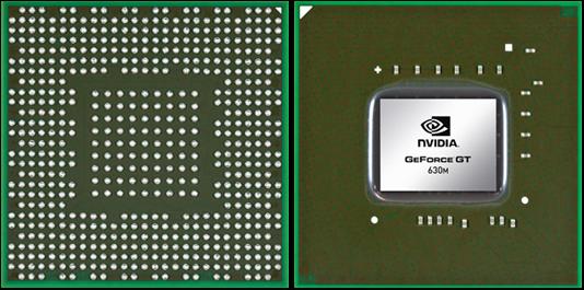 Видеокарта для ноутбука NVIDIA GeForce GT 630M