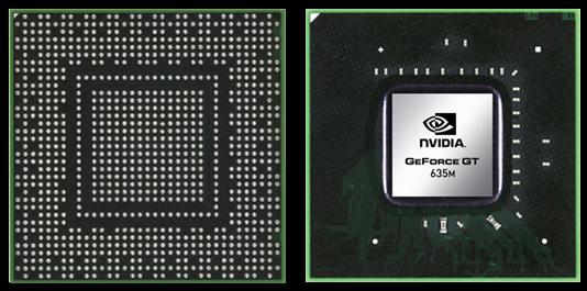Видеокарта для ноутбука NVIDIA GeForce GT 635M