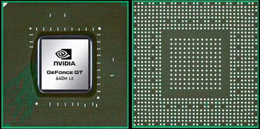 Видеокарта для ноутбука nVidia GeForce GT 640M LE