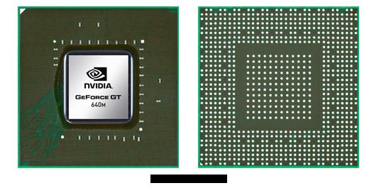 Видеокарта для ноутбука NVIDIA GeForce GT 640M
