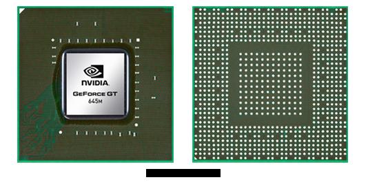 Видеокарта для ноутбука nVidia GeForce GT 645M