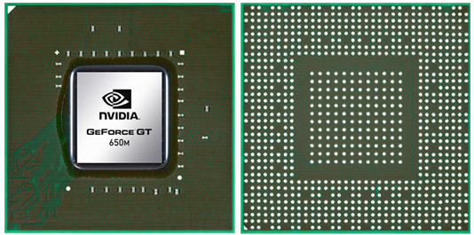 Видеокарта для ноутбука NVIDIA GeForce GT 650M