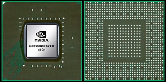 Видеокарта для ноутбука nVidia GeForce GTX 660M