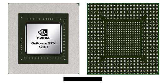 Видеокарта для ноутбука nVidia GeForce GTX 670MX
