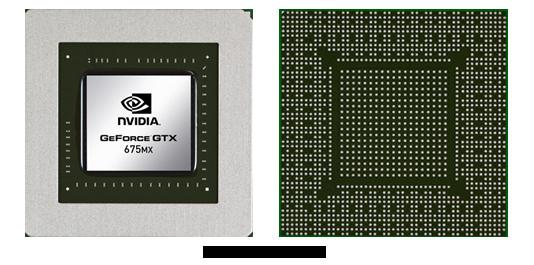 Видеокарта для ноутбука nVidia GeForce GTX 675MX
