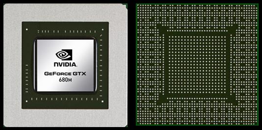 Видеокарта для ноутбука nVidia GeForce GTX 680M