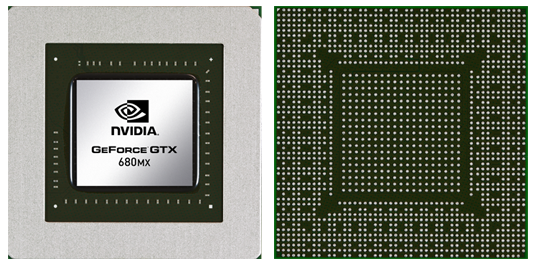 Видеокарта для ноутбука nVidia GeForce GTX 680MX