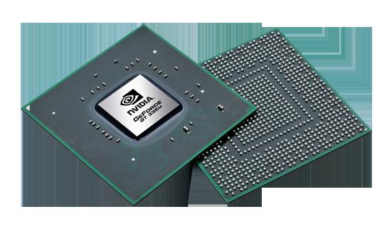 Видеокарта для ноутбука nVidia GeForce GT 335M