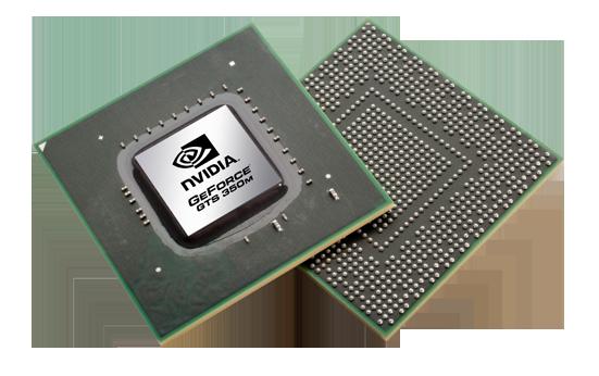 Видеокарта для ноутбука nVidia GeForce GTS 350M