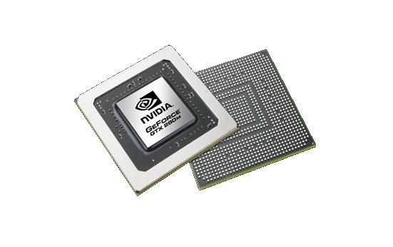 Видеокарта для ноутбука nVidia GeForce GTX 280M