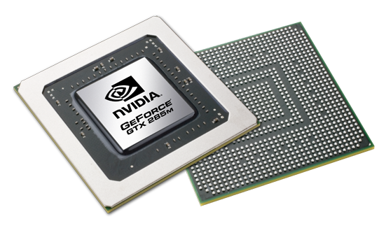 Видеокарта для ноутбука nVidia GeForce GTX 285M