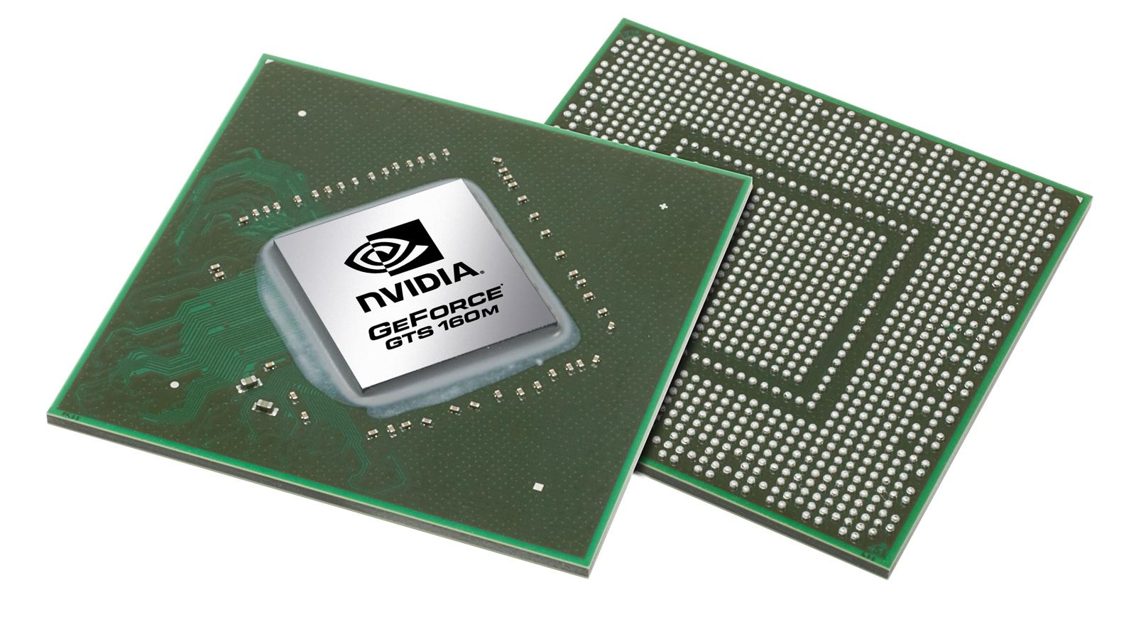 Видеокарта для ноутбука nVidia GeForce GTS 160M