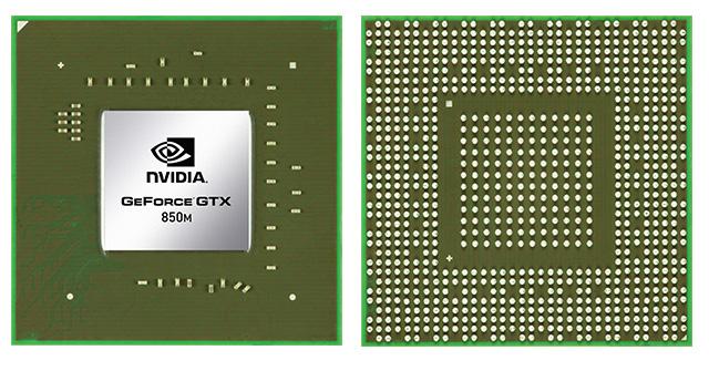 Видеокарта для ноутбука NVIDIA GeForce GTX 850M