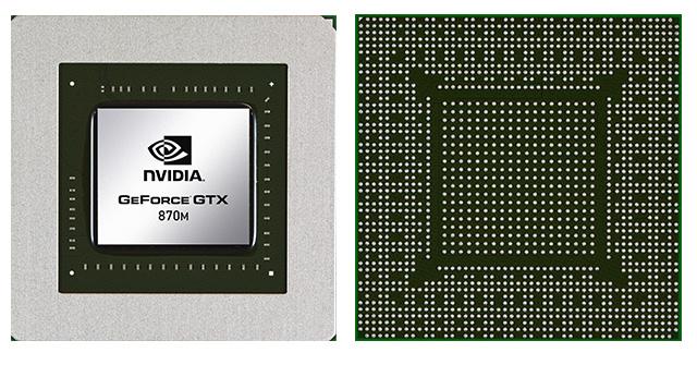 Видеокарта для ноутбука nVidia GeForce GTX 870M