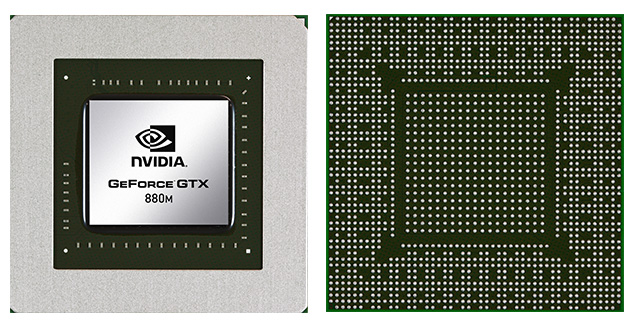 Видеокарта для ноутбука NVIDIA GeForce GTX 880M