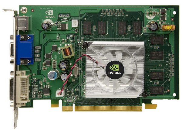 Видеокарта nVidia GeForce 8500 GT