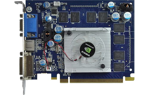 Видеокарта nVidia GeForce 8600 GS