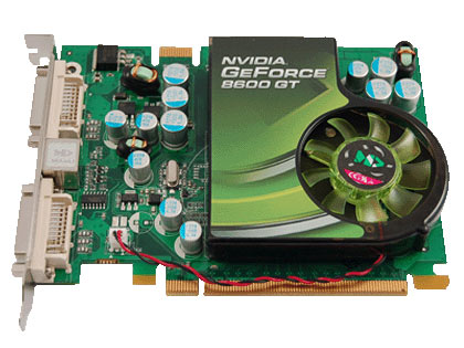 Видеокарта nVidia GeForce 8600 GT